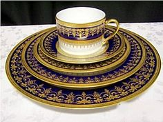 Amazing -Bernardaud: Chenonceaux Bleu De Four Looking for this and if I ever find it watch out :P