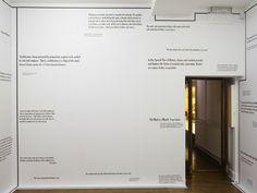 Joseph Kosuth discusses his exhibition at Sprüth Magers - artforum.com / 500 words