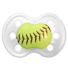 yellow softball ball pacifier softball bedroom ideassoftball