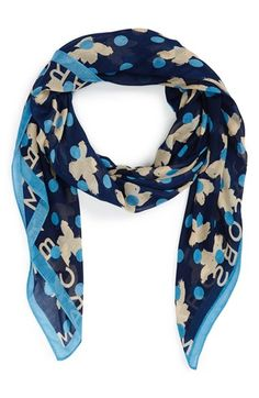 MARC BY MARC JACOBS 'Dotty Flora' Scarf