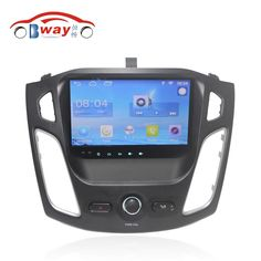 """Free Shipping 9"""" Quad core Android 6.0.1 Car DVD Player For Ford Focus 2012 car GPS Navigation bluetooth,Radio,wifi,DVR"""