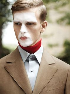 Benjamin Eidem for 10 Men Magazine F/W 2012
