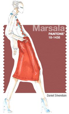 Pantone Fashion Color Report: Marsala Color of the Year 2015
