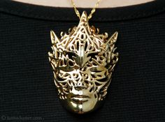 Dreamer Mask: Beacon Pendant 3d printed