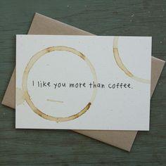 I LIKE YOU MORE THAN COFFEE / Little City Love