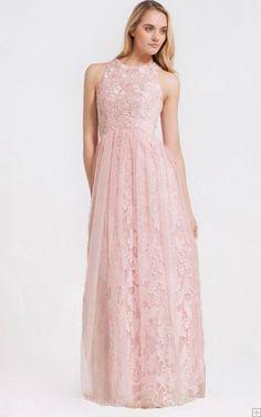 Jewel Knee-length Lace Natural A-line Bridesmaid Dresses