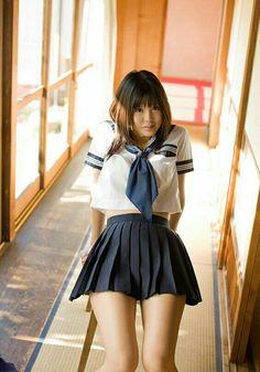 Image in Japanese's images album School Uniform Girls, Girls Uniforms, Asian Cute, Sexy Asian Girls, School Fashion, Girl Fashion, Cosplay, Sexy Rock, Attractive Girls