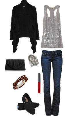 Wednesday Night Date #4, created by greenlantress on Polyvore