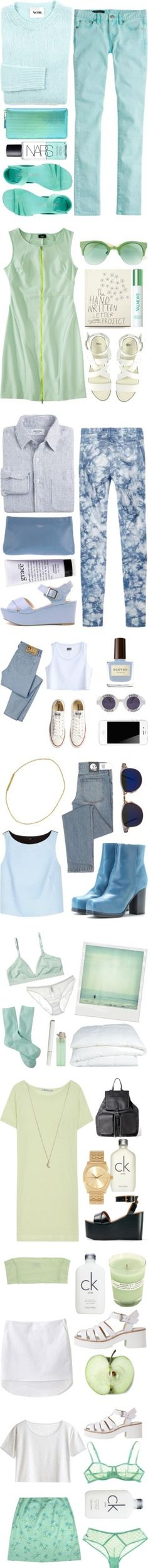 """""""Blue"""" by chapel-apparel on Polyvore"""