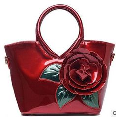 FLYING BIRDS! women handbag elegant women leather handbags retro shoulder bags bolsas famous brands flower women's bag LM3027fb
