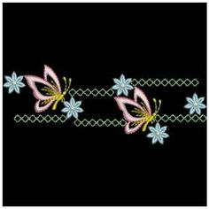 Hand Embroidery Patterns Flowers, Hand Embroidery Videos, Embroidery Suits Design, Hand Embroidery Stitches, Embroidery Fashion, Hand Embroidery Designs, Hand Painted Fabric, Boarders, Cutwork