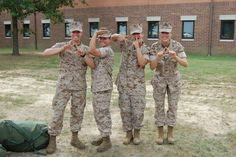 DG sister, Jennifer Lynnette and a few of her fellow Platoon mates (and Panhellenic sisters!) after graduating United States Marine Corps Officer Candidates School in Quantico, VA. She's a proud member of the Delta Kappa Chapter of Delta Gamma at the University of South Florida and personally wanted to thank Delta Gamma's everywhere for starting our new program Service for Sight: Joining Forces. She loves her country and serves with honor.