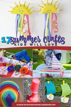 17 Great Summer Crafts for Kids