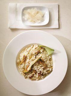 Recette de risotto de base de Ricardo Gf Recipes, Shrimp Recipes, Side Dish Recipes, Veggie Recipes, Italian Recipes, Vegetarian Recipes, Veggie Meals, Ricardo Recipe, Parmigiano Reggiano