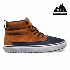 Vans Zapatos Del Pato Sk8-Hi MTE (MTE) ginger/navy - Vans España Tienda Oficial Online