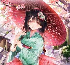 Anime Girl Crying, Anime Wolf Girl, Anime Girl Cute, Kawaii Anime Girl, Manga Girl, Anime Art Girl, Anime Girls, Anime Kimono, Sailor Moon Stars