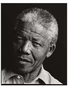 Nelson Mandela, Soweto, South Africa, 1990 by Annie Leibovitz
