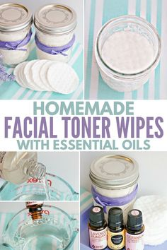 How to make easy DIY facial toner pads with essential oils and natural ingredients for refreshing skin care - quick and easy to make, plus which essential oils work the best for different skin types, Check more at. Beauty Care, Diy Beauty, Homemade Beauty, Beauty Ideas, Beauty Guide, Face Beauty, Beauty Tricks, Luxury Beauty, Beauty Secrets
