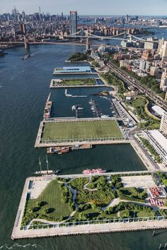 59 Ideas For Landscape Architecture Waterfront New York Places To Travel, Places To Visit, Parks, Ville New York, Voyage New York, Upstate New York, New York Travel, Urban Landscape, Landscape Architecture