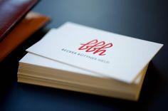 BECKER BÜTTNER HELD / Neuer Markenauftritt für die renommierte Kanzlei / #Logo #Typografie #Geschäftsausstattung / by Zeichen & Wunder, München