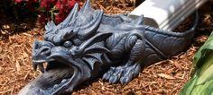 Dragon Rainspout Statue