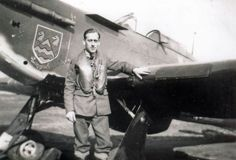 Hailing from Epsom, Sgt Wilfrid T Page was permitted by the local council to paint his home town's coat of arms on Hurricane Mk I JX-M on joining No 1 Squadron RAF at RAF Wittering on 27 September 1940. On 29 October, the 26-year-old pilot claimed a Do 17 destroyed but during the combat return fire damaged the glycol system, forcing him to land at Orton, the aircraft being a write off.