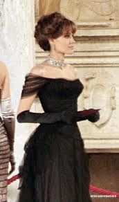 """From the movie the """"Tourist"""" Angelina Jolie's Ball Gown"""