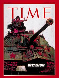 TIME Magazine Cover: Russian Invasion of Czechoslovakia - Aug. 30, 1968