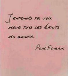"""#quote Et aussi """"Je sens ta voix portée par le souffle de la lumière."""" Ninon Nioui. ;)"""