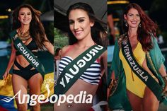 Miss Earth 2016 Group 2 and 3 Resort Wear Contest Winner Announced