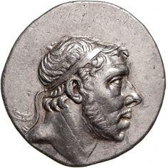 Tetradracma - argento - Ponto (185-170 a.C.) Farnakes I di profilo vs.dx. - Münzkabinett Berlin