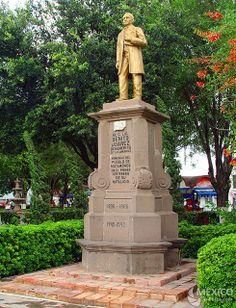 Monumento a Benito Juárez en Matamoros, Tamaulipas