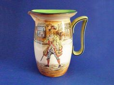 Royal Doulton Series 'A' Dickens Ware 'Barnaby Rudge' Clent Jug D2973 c1910
