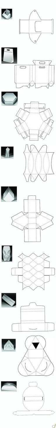 Templates for unusual boxes