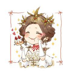 Mary I, Queen Mary, Geisha, Madame Red, V Chibi, V Cute, Identity Art, Anime Angel, Slayer Anime
