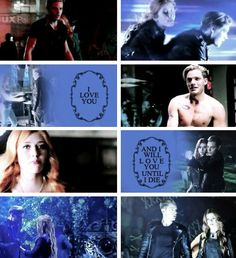 Clary and Jace #clace #shadowhunters tumblr