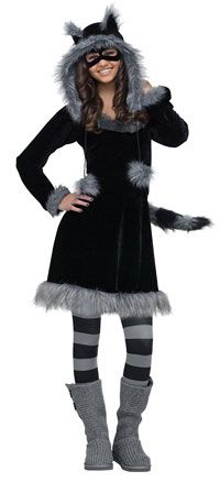 Raccoon girls costume $54.22