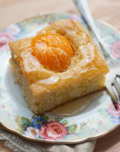 """Pressing little clementine """"cuties"""" into cake batter before baking makes it just a little more fun! You can use any basic cake r..."""