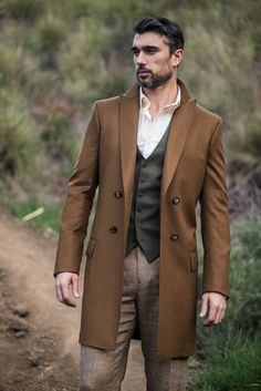 natural colors in nature // topcoat, menswear, vest, menswear, mens style