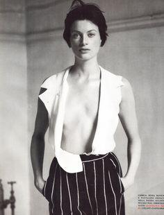 Vogue Italia August 1993 The Luxe Has Changed Photographer: Steven Meisel Stylist: Joe McKenna