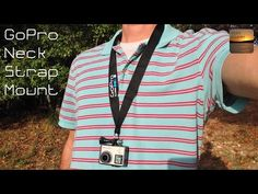 Hang Your GoPro from a Neck Strap: Easy 10 Second Build - YouTube