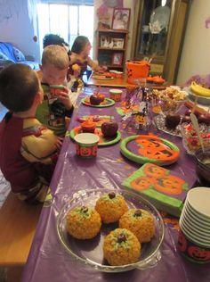 15 IDEAS FOR A KID-FRIENDLY HALLOWEEN PARTY! Arianne' Joy - Halloween Party Joy~*