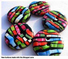 polymer clay buttons . polymerclayetc.com