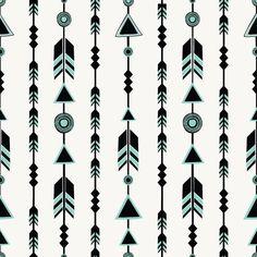 Arrows Away Cotton Knit