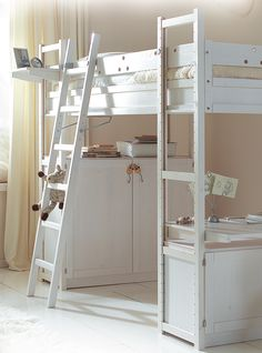 Build a loft bed from other furniture