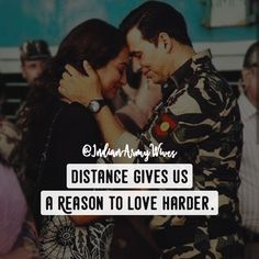 17 Best Quotes for Indian Army Girlfriend (Pictures) – Sonusmac Soldier Love Quotes, Army Love Quotes, Indian Army Quotes, Cute Love Quotes, Girly Quotes, Army Girlfriend Quotes, Marines Girlfriend, Navy Girlfriend, Military Couples