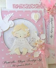 Christmas Cards, Christmas Ornaments, Baby Cards, Cardmaking, Holiday Decor, Paper, Frame, Shabby, Etsy