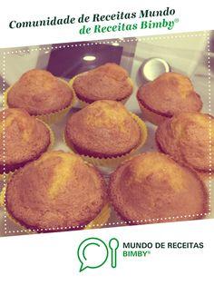 Queques de Laranja de dsintra. Receita Bimby<sup>®</sup> na categoria Bolos e Biscoitos do www.mundodereceitasbimby.com.pt, A Comunidade de Receitas Bimby<sup>®</sup>. Muffin, Breakfast, Sweet Recipes, Orange Cupcakes, Portuguese Recipes, Community, Crack Crackers, Cakes, 4 Ingredients