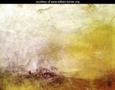 Sunrise with Sea Monsters 1845 - Joseph Mallord William Turner - www.william-turner.org