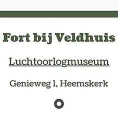 Mee info over Fort bi jVeldhuis in de app 'Stampions op de Stelling' #AppStore #GooglePlay #werelderfgoed #FortbijVeldhuis